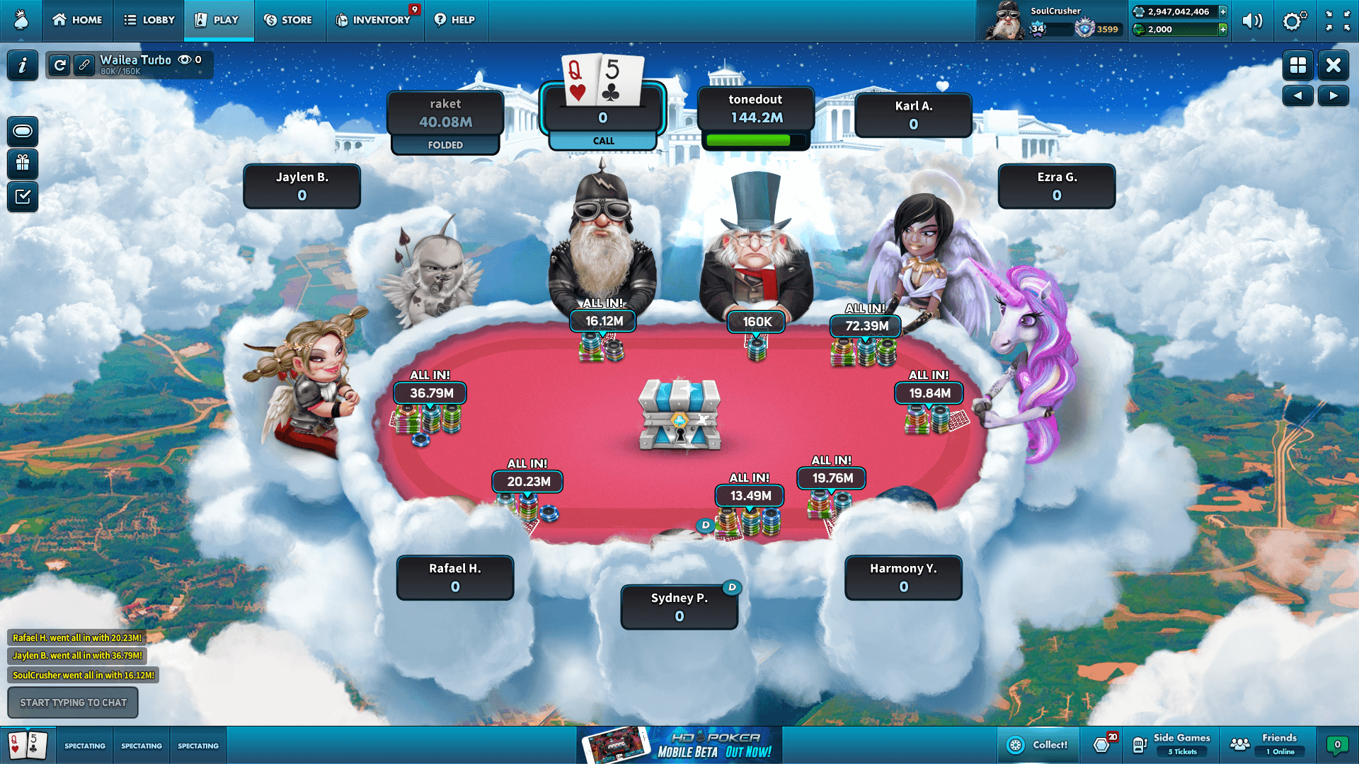 HD Poker Desktop